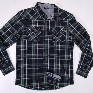 Oakley Checks/Boxes Long Sleeve Casual Button Up